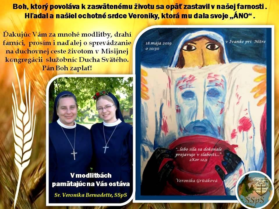 sr. Veronika Bernadette, SSpS